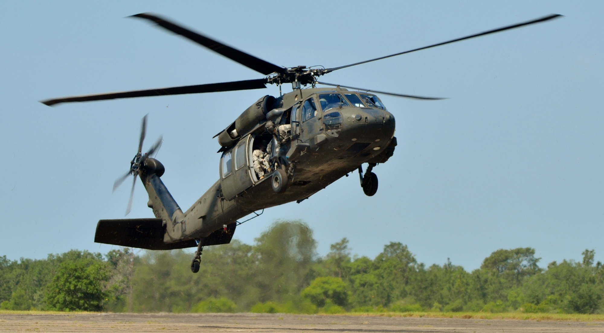 Blackhawk helicopter parts